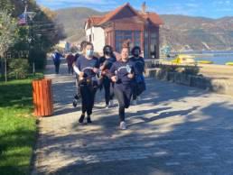 Laufen in Pogradec